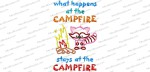 what happens at campfire sign 6x10