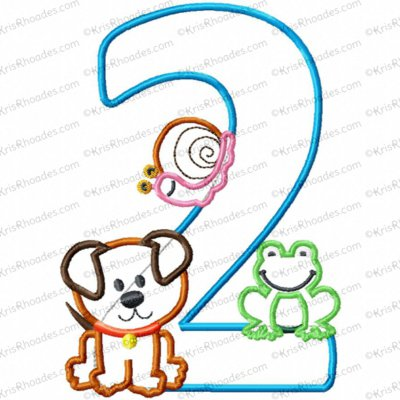 2 frogs snails puppy 5x7