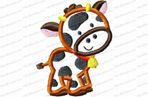 cow 2 inch