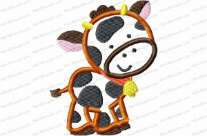 cow 3 inch