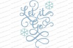 let it go 5x7