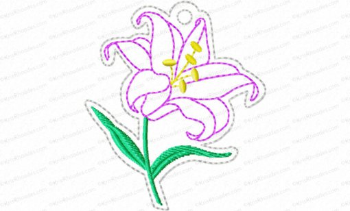 Jesse Tree Ornament Day 8 Tablets Embroidery Design
