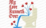 my love runneth over