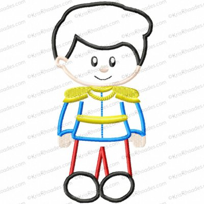 Prince Henry Applique Embroidery Design