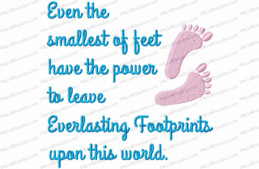 everlasting footprints 4x4