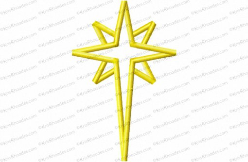 nativity star 5 inch