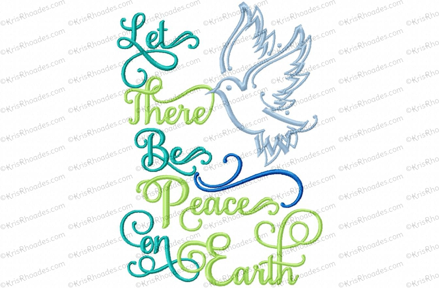 let there be peace: