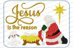 mug rug - Jesus is the reason