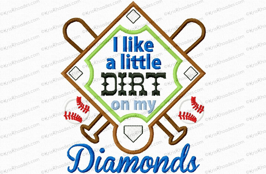 dirt on my diamonds 5x7
