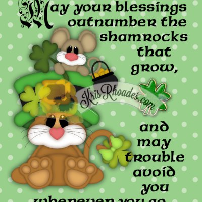 Digital Art: Irish Blessing