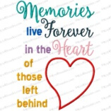 memories live forever 8x12