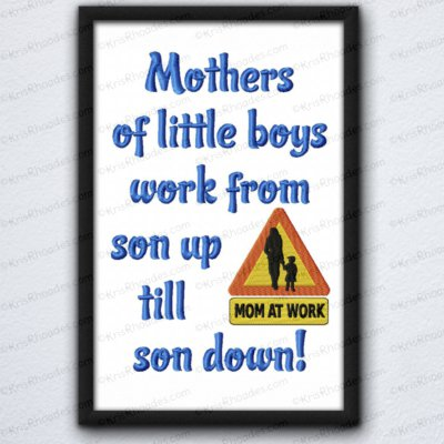 mothers work son up till son down