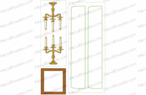 rhoades_dollhouse dining room parts 03 6x10
