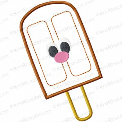 Fudgesicle Applique Embroidery Design