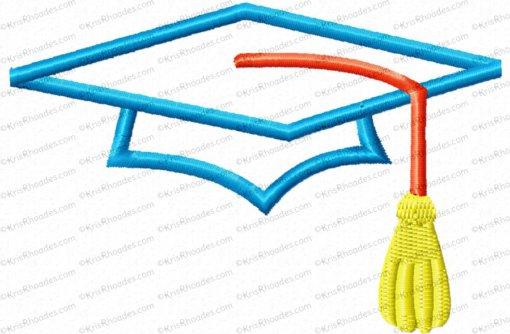 cap and tassel 4x4