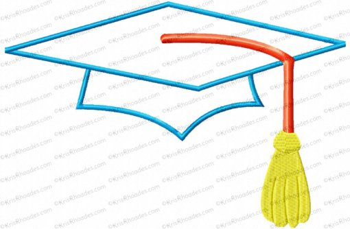 cap and tassel 6x10