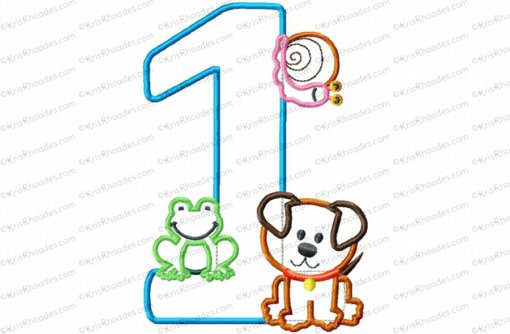 1 frogs snails puppy 5x7