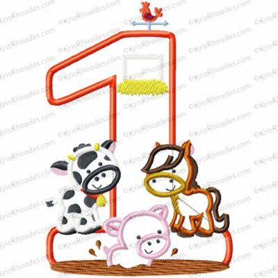 Farm Animals Birthday