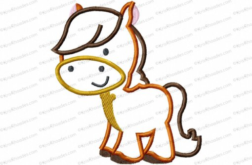 horse 6 inch