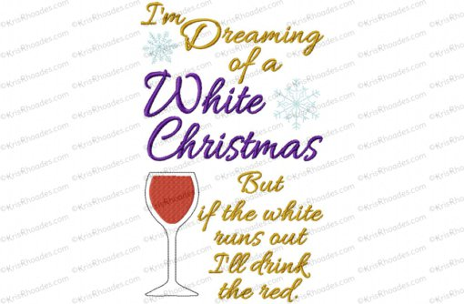 white christmas drink 6x10
