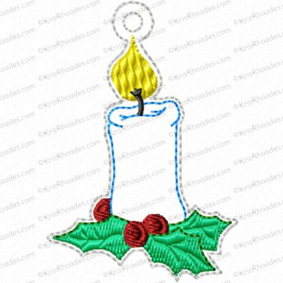 Jesse Tree Ornament Day 15 Stump Embroidery Design