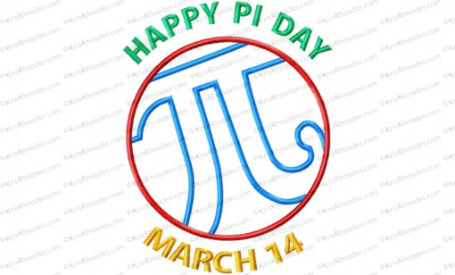 happy pi day 8x12