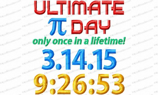 ultimate pi day 4x4