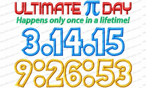 ultimate pi day 5x7