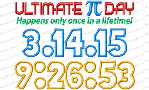 ultimate pi day 8x12