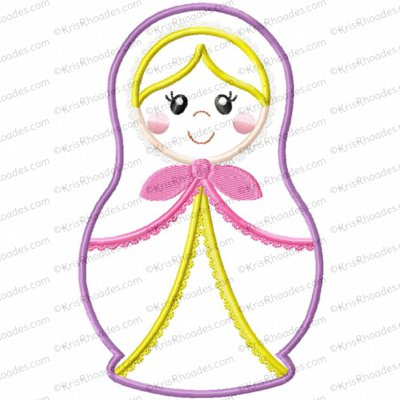 matryoshka doll 1 5x7