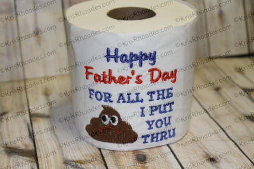 father's day crap - christy