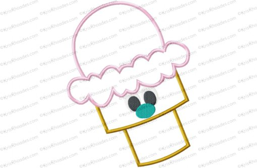 icecream cone 8x12