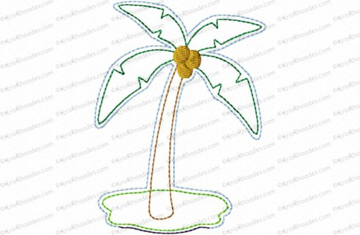nativity palm tree 4x4 feltie