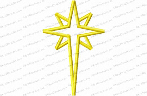 nativity star 4 inch