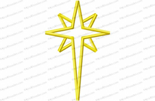 nativity star 7 inch