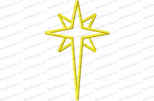 nativity star 8 inch