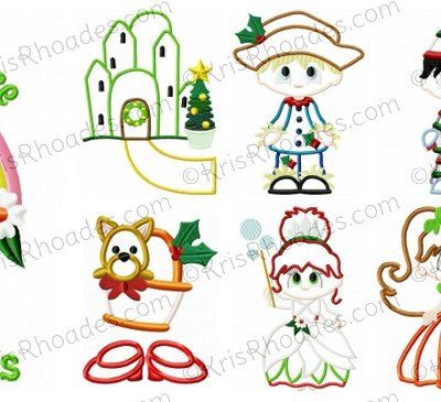 Christmas in Oz Set of 9