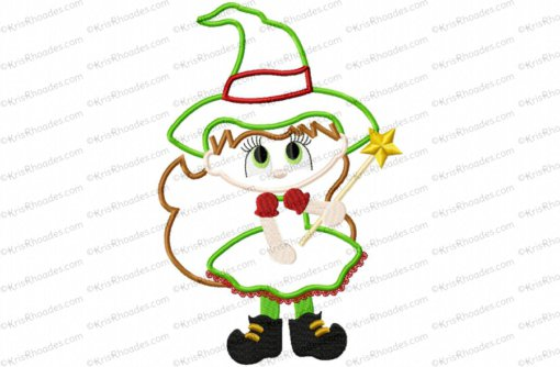 christmas bad witch 6x10