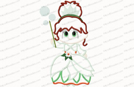 christmas good witch 8x12