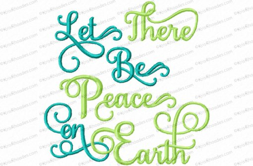let there be peace on earth 4x4