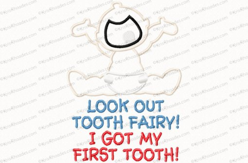 first tooth 6x10
