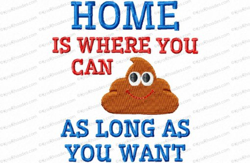 home - poop as long as you want tp