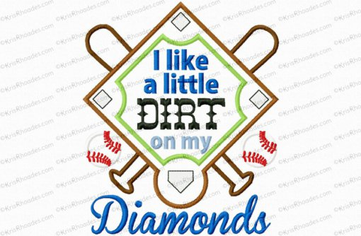 dirt on my diamonds 6x10