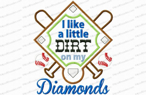 dirt on my diamonds 8x12