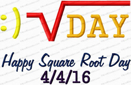 happy square root day 6x10
