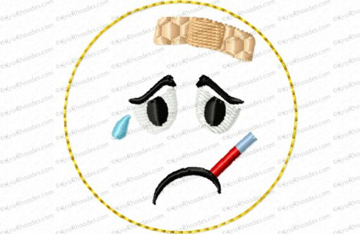 rhoades_feltie emoticon sick