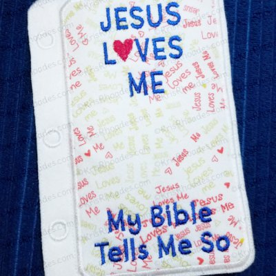 Quiet Book Bible Page 36 - Bible Cover Embroidery Design Bundle