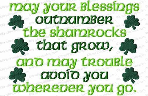 rhoades_irish blessing 6x10