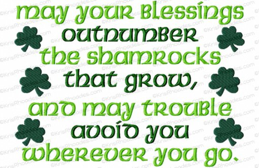 rhoades_irish blessing 8x12