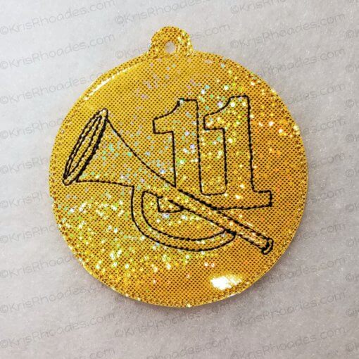 rhoades_11 pipers piping ornament